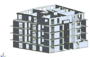 Model Bubudynku